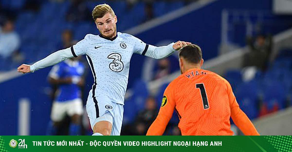 Werner ra mắt Chelsea ấn tượng, vẫn bị chê không có cửa đá cho Liverpool
