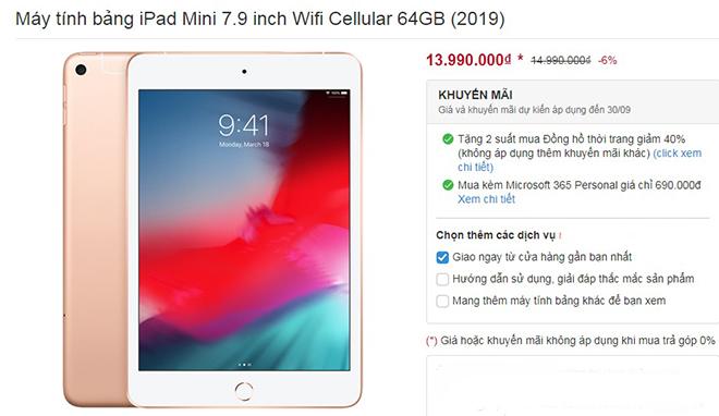 Giá iPad 2019 bất ngờ đồng loạt giảm, chuẩn bị cho iPad Air 4 đổ bộ - 1