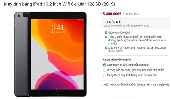 Giá iPad 2019 bất ngờ đồng loạt giảm, chuẩn bị cho iPad Air 4 đổ bộ - 3