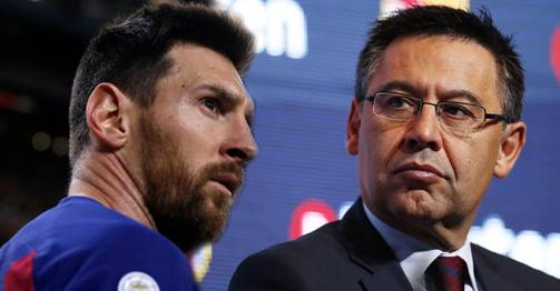 """Barca - Messi lại căng thẳng: Chủ tịch """"mặt dày"""" đòi M10 giảm lương vì lý do gì?"""