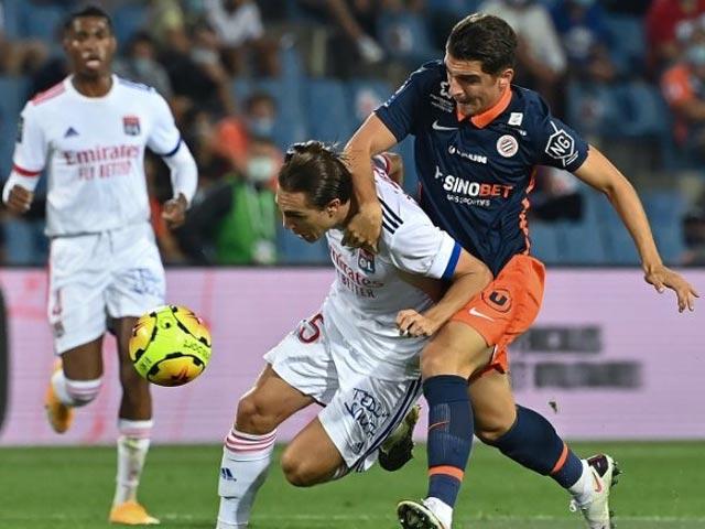 Video highlight trận Montpellier – Lyon: 2 thẻ đỏ vỡ vụn, penalty định đoạt - 1