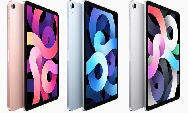 Trình làng iPad Air 4 có thiết kế như iPad Pro sang xịn - 1