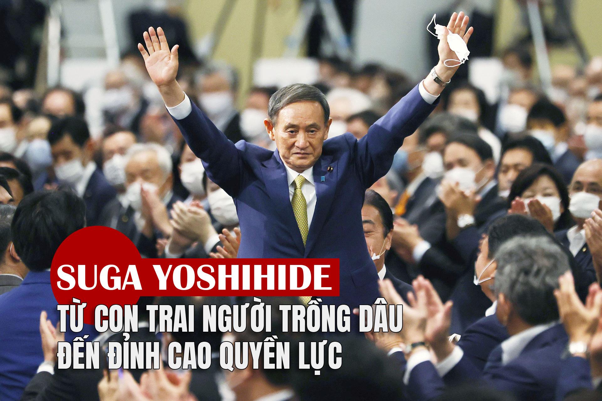 [eMagazine] Suga Yoshihide: Từ con trai người trồng dâu đến đỉnh cao quyền lực - 1