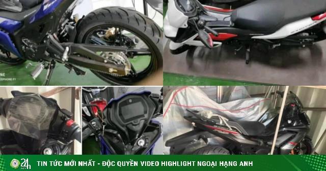 NÓNG: Lộ ảnh thực tế 3 phiên bản Yamaha Exciter 155 VVA?