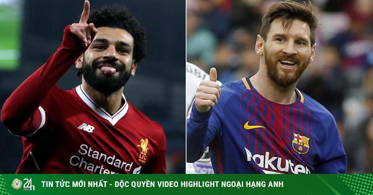 Barca lo tương lai không Messi: Nhắm Salah thay thế, bom tấn 150 triệu bảng?