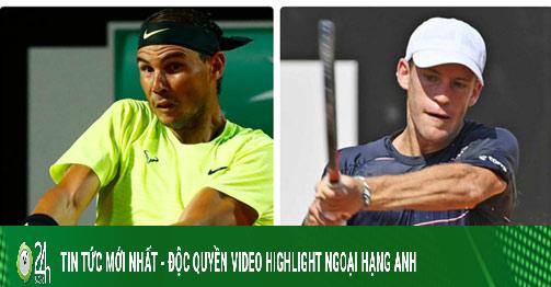 Video tennis Schwartzman - Nadal: Địa chấn ngỡ ngàng, Nhà Vua choáng váng (Tứ kết Rome Masters)
