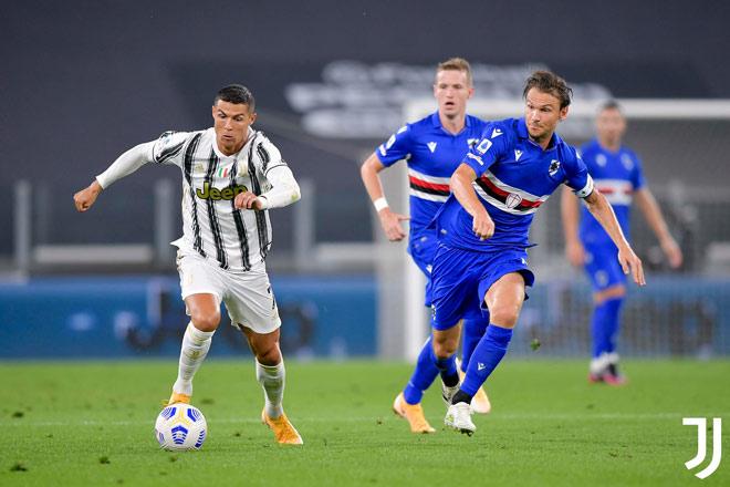 Video highlight trận Juventus - Sampdoria: Đại tiệc khai hội, Ronaldo vỡ òa phút cuối - 1