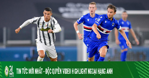 Video highlight trận Juventus - Sampdoria: Đại tiệc...