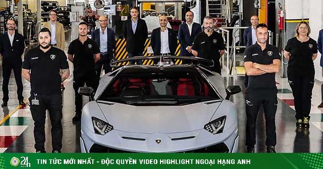 Lamborghini xuất xưởng chiếc Aventador thứ 10.000