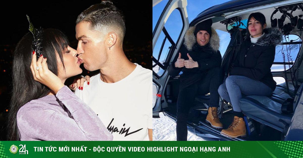 Siêu mẫu nóng bỏng được Ronaldo chi 18 tỷ để cầu hôn lộ gia thế khó ngờ