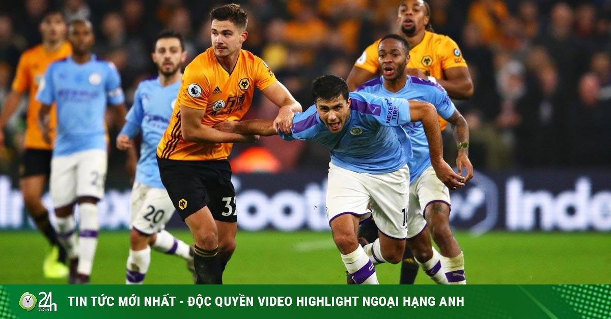 Trực tiếp bóng đá Wolves - Man City: Hiểm họa lớn ở Hang sói
