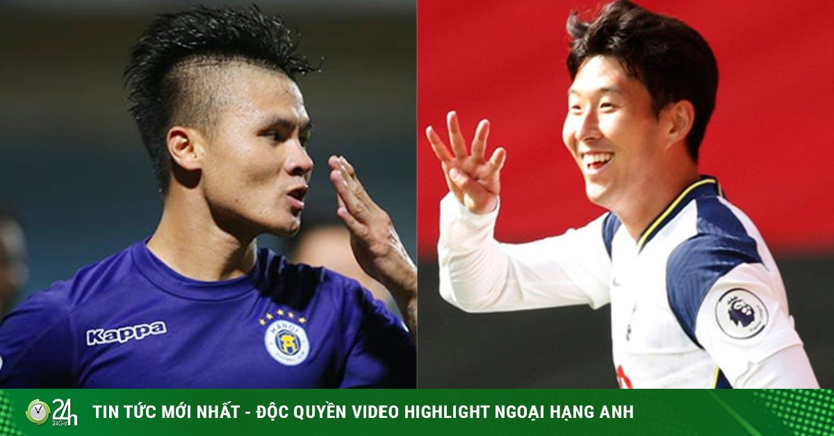 Từ Quang Hải đến Son Heung Min, ngôi sao bùng nổ làm nức lòng triệu fan