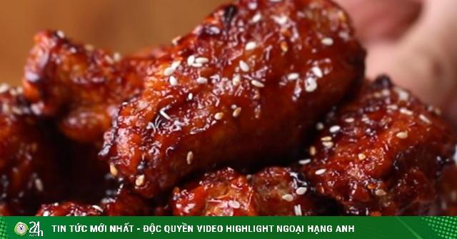 Cách làm cánh gà sốt cay Hàn Quốc ăn ngày trở gió chỉ có trên cả tuyệt vời