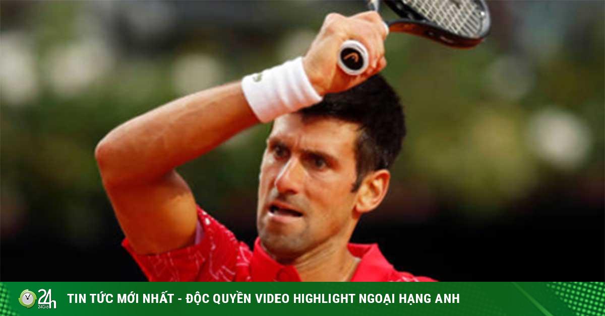 Video tennis Djokovic - Schwartzman: Kiên cường ngược...