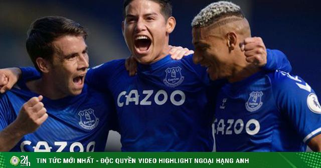 James Rodriguez bay cao cùng Everton: Ngoại hạng Anh mê mẩn vũ điệu Nam Mỹ
