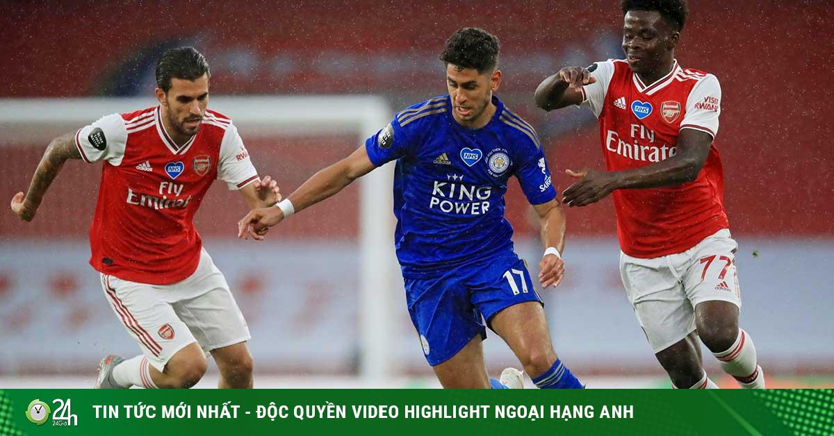 Trực tiếp bóng đá Leicester - Arsenal: Quyết chiến chờ đấu khổng lồ