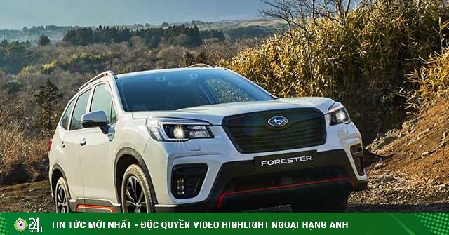 Subaru thêm phiên bản đặc biệt cho dòng xe Forester, nhiều khả năng có mặt tại Việt Nam