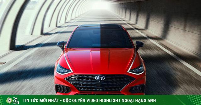 Hyundai trình làng Sonata 2021 phiên bản thể thao N Line