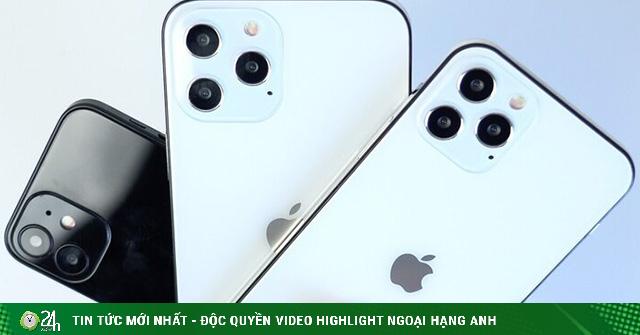 Bức tranh phác hoạ toàn cảnh gia đình iPhone 12