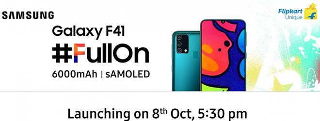 Galaxy F41 sắp trình làng, sẽ gây sốt thị trường giá rẻ? - 1