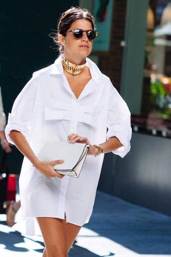 5 kiểu phối với áo sơ mi trắng sành điệu như một fashionista - 10