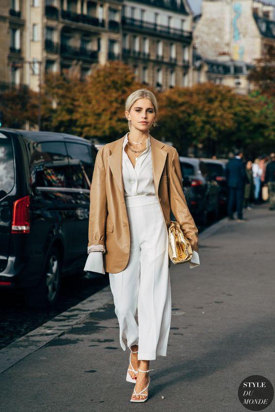 5 kiểu phối với áo sơ mi trắng sành điệu như một fashionista - 5