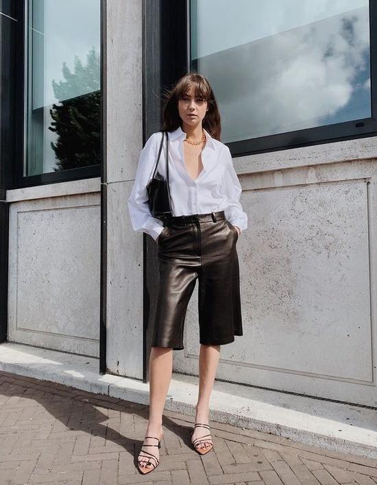 5 kiểu phối với áo sơ mi trắng sành điệu như một fashionista - 8