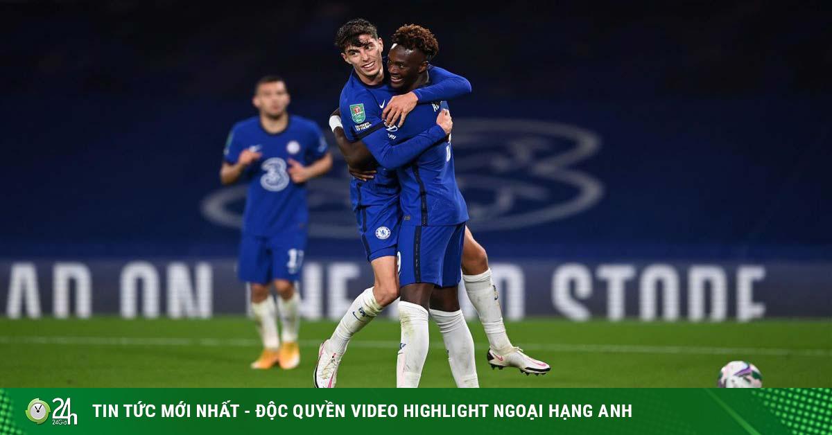 Kai Havertz bùng nổ hat-trick, Chelsea đánh tennis: HLV Lampard nở mày nở mặt