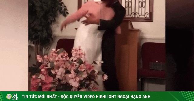 Ngỡ ngàng với những sự cố trớ trêu trong các đám cưới