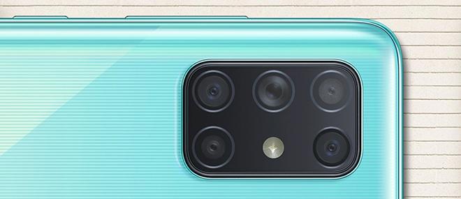 Galaxy A72 sẽ là smartphone đầu tiên của Samsung có 5 camera - 2