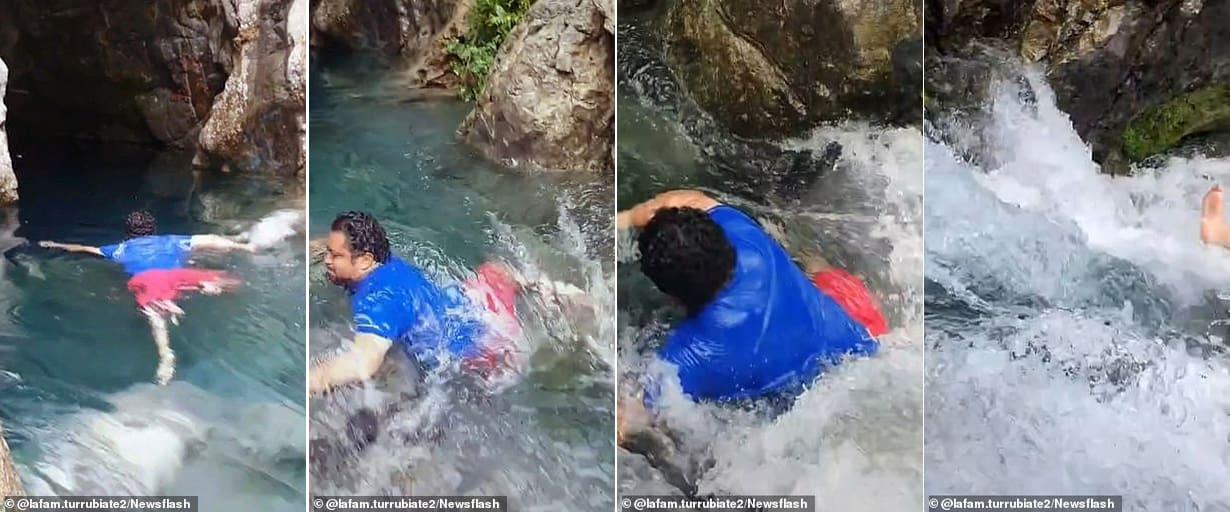 Video: Bất chấp nguy hiểm quay video TikTok, người đàn ông bị cuốn trôi và kết cục đau đớn - 1