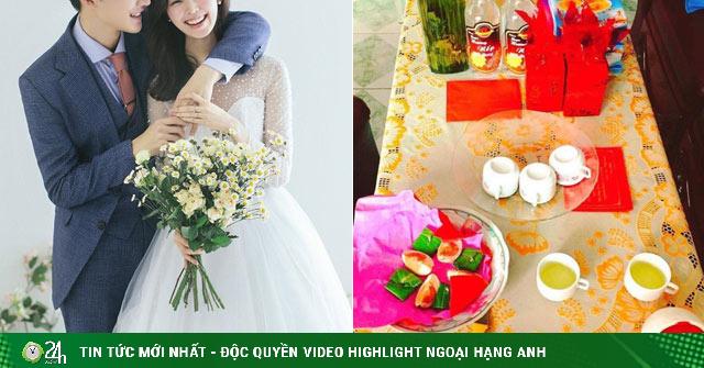 Nhà gái thách cưới số tiền bằng đúng số cân nặng của cô dâu khiến chú rể tái mặt