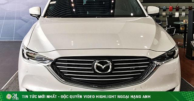 Mazda CX8 bản Deluxe tăng thêm trang bị, giá 999 triệu đồng
