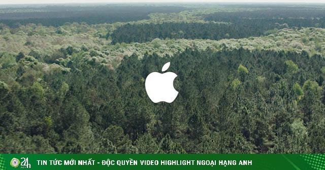 Apple ghi danh thêm giải thưởng tái tạo năng lượng xanh