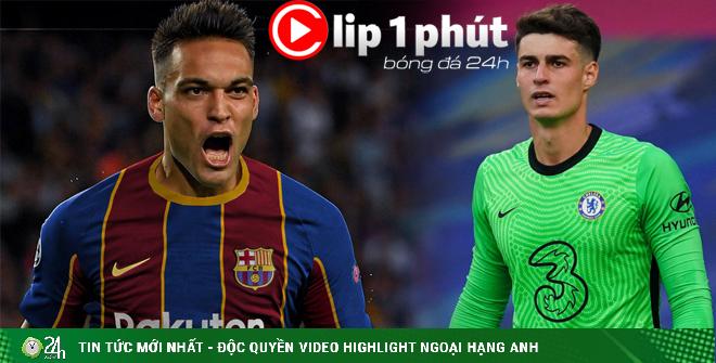 Barcelona chốt SAO thay Suarez, Chelsea xử thủ môn đắt nhất lịch sử (Clip 1 phút Bóng đá 24H)