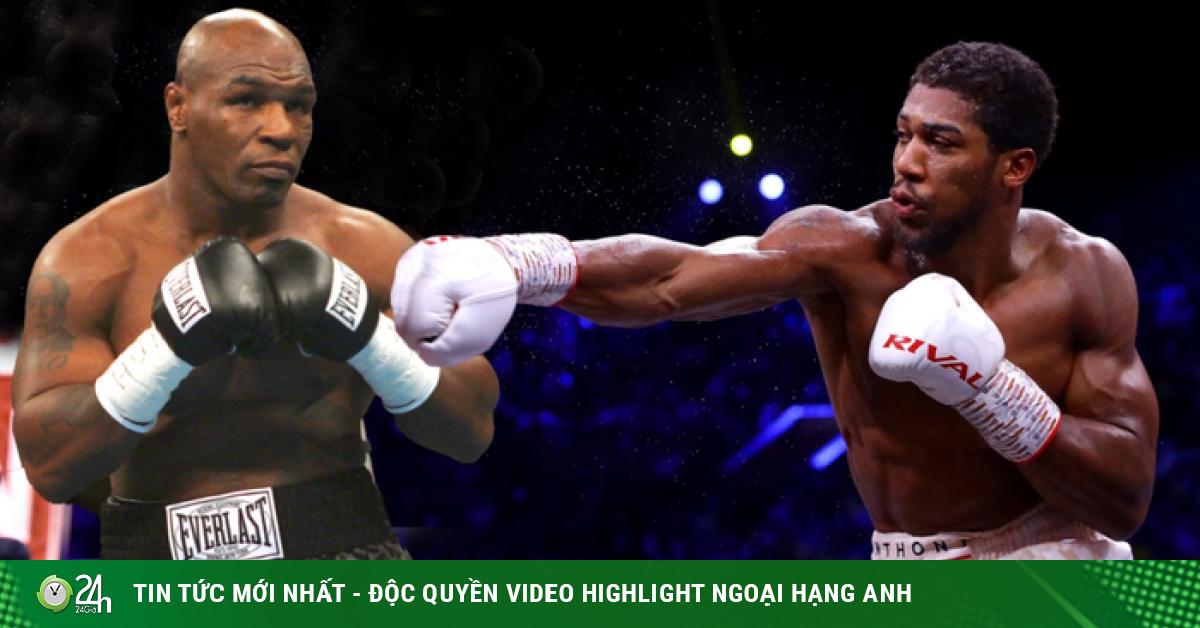 Tyson Thép 54 tuổi liều mạng đấu Joshua mới 30: Quyền vương sợ xấu mặt