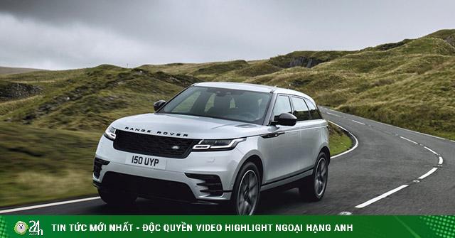 Range Rover Velar 2021 trình làng, giá từ 1,36 tỷ đồng