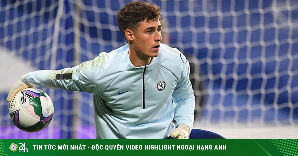Thực hư Chelsea thay thủ môn ở trận gặp West Brom, thở phào vì người cũ