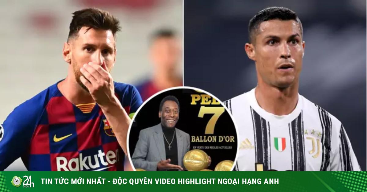 Sửng sốt Vua bóng đá Pele có 7 Quả bóng Vàng, Ronaldo & Messi choáng