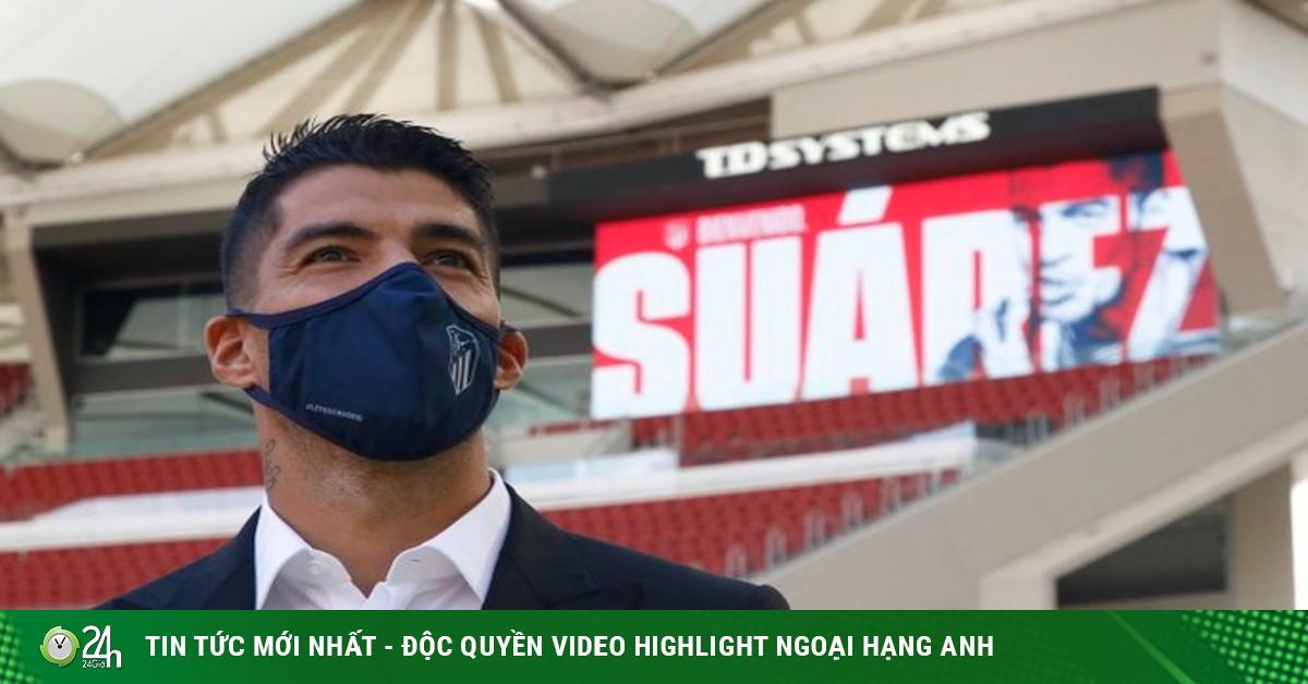 Luis Suarez chính thức gia nhập Atletico Madrid, có đá chính trận ra mắt?
