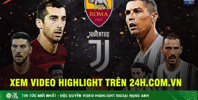 Nhận định bóng đá AS Roma - Juventus: Ronaldo lại bùng nổ tặng quà Pirlo?