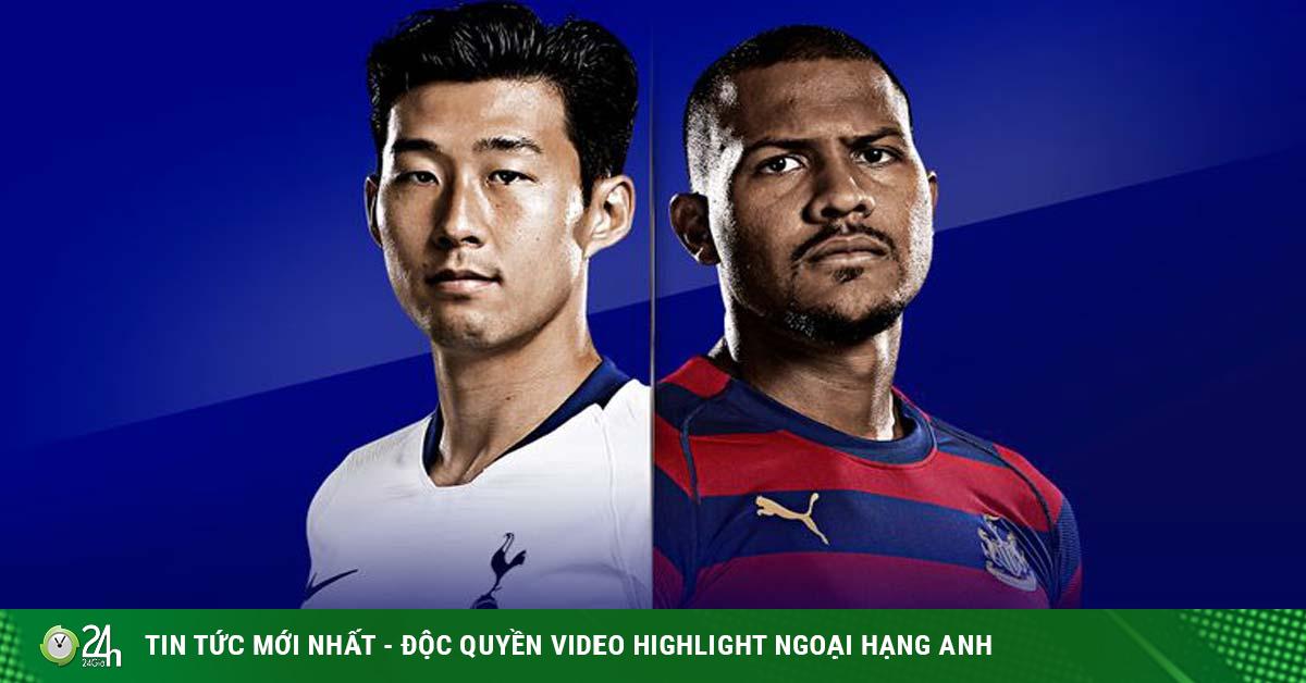 Trực tiếp bóng đá Tottenham - Newcastle: Bay cao trên đôi cánh Son - Kane
