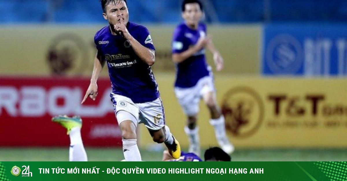 Hòa như thua, Hà Nội FC đón thêm tin dữ từ ngòi nổ