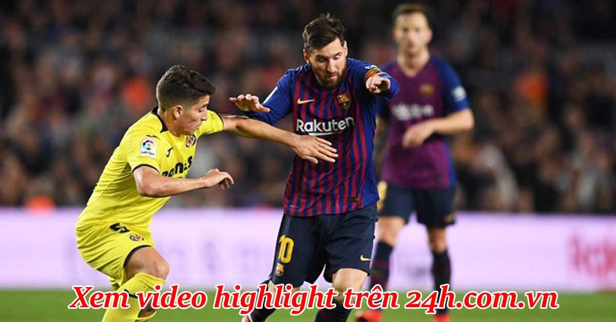 Trực tiếp bóng đá Barcelona - Villarreal: Griezmann đá cắm, Messi đấu Alcacer
