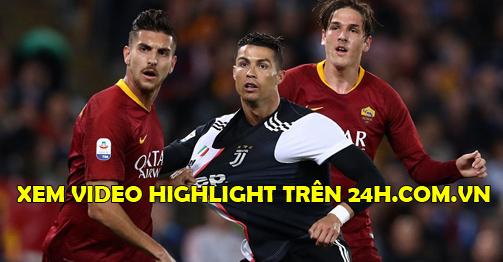 Trực tiếp bóng đá AS Roma - Juventus: Morata đá cặp Ronaldo