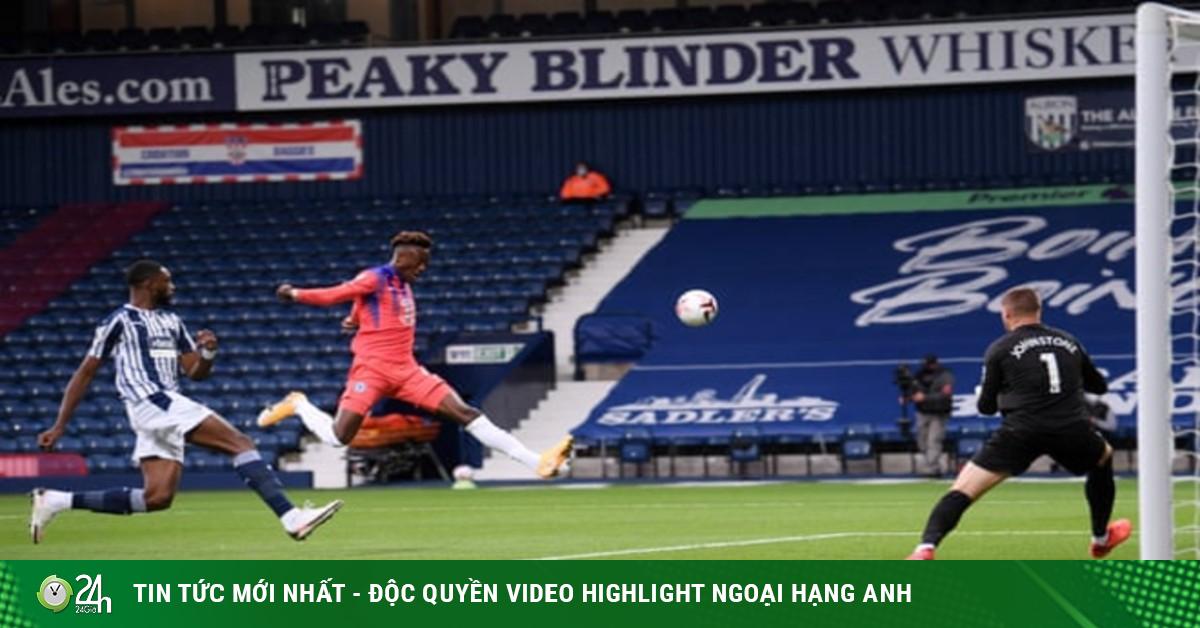 Video highlight trận West Brom - Chelsea: 6 bàn mãn...