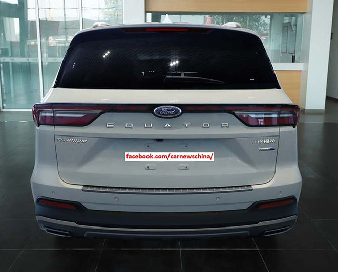 Ford Equator 2021 launched, a new counterweight to the Toyota Highlander - 2