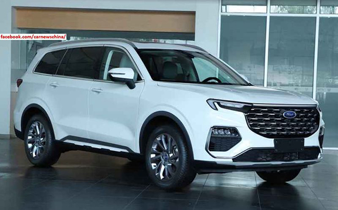 Ford Equator 2021 launched, a new counterweight to the Toyota Highlander - 1