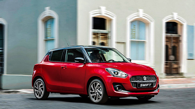 Suzuki Swift upgraded version launched in Europe - 2