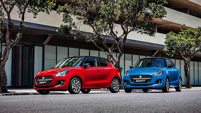 Suzuki Swift upgraded version launched in Europe - 1